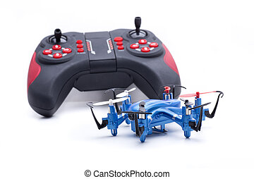nano hexacopter blue - Small multicopters to fly indoors...