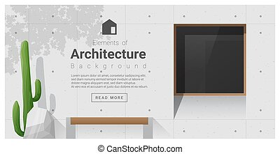Elements of architecture , window background 8 - Elements of...