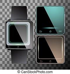 Smart watches set