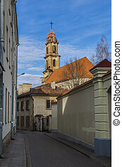 Church of the Blessed Virgin Mary of Consolation. Vilnius....