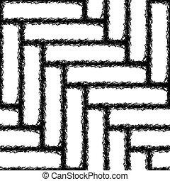 Seamless herringbone texture of the carpet - Seamless...