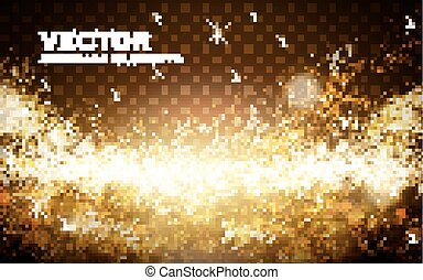 golden light powder background - lateral golden light powder...