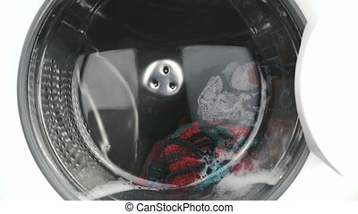 Washing machine. Working process - Washing machine...