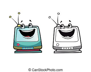 television character coloring pages