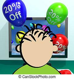 Sale Discount Of Twenty Percent Online 3d Rendering