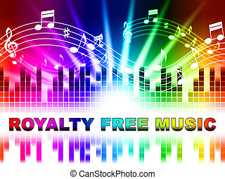Royalty Free Music Shows Sound Tracks And Acoustics -...