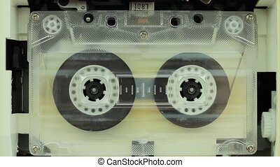 Audio cassette (1080p HD video)