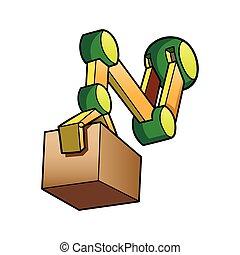 robotic hand worker