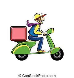 motorcycle delivery service