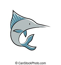 marlin fish symbol