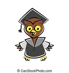 scholar owl character