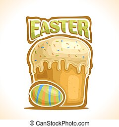 Vector illustration for Easter holiday