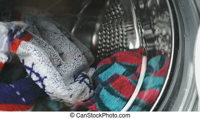 Washing machine reel downloaded the colored towels - Home...