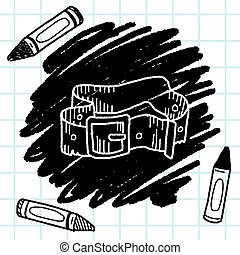 pant belt  doodle