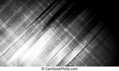 Abstract black shiny striped video animation - Abstract...