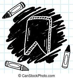 doodle bookmark