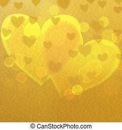 Graphic illustration. - Abstract background with love...