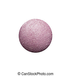 Sample eyeshadows on a white background. - Beautiful makeup...