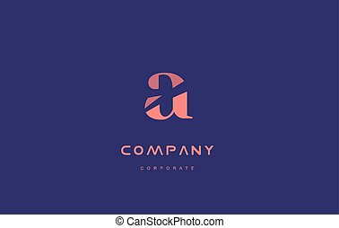 a company small letter logo icon design - a alphabet small...