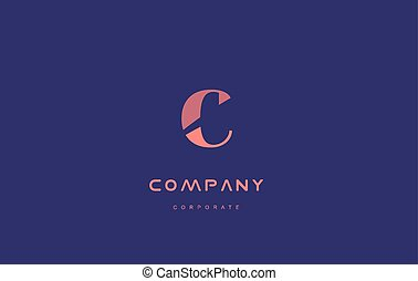 c company small letter logo icon design - c alphabet small...