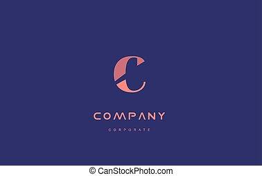 c company small letter logo icon design - c alphabet small...