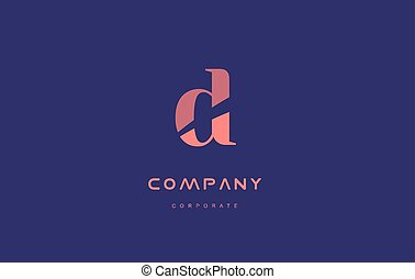 d company small letter logo icon design - d alphabet small...