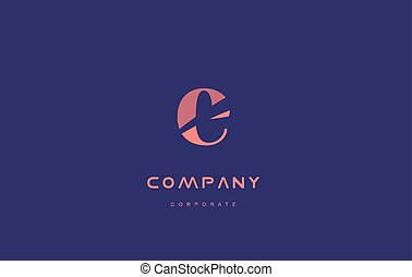 e company small letter logo icon design - e alphabet small...