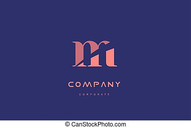 m company small letter logo icon design - m alphabet small...