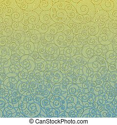 Blank Decorative Ornametal Background. Vector - Blank...