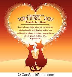 Valentines Day Cartoon Background - Happy Valentines Day....