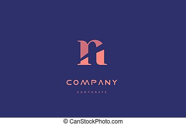 n company small letter logo icon design - n alphabet small...