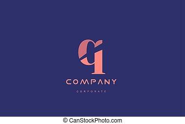 q company small letter logo icon design - q alphabet small...