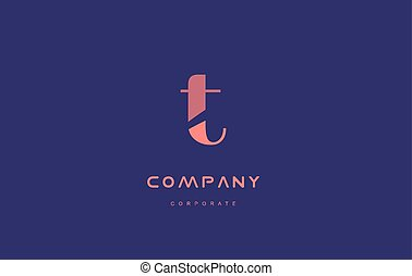 t company small letter logo icon design - t alphabet small...