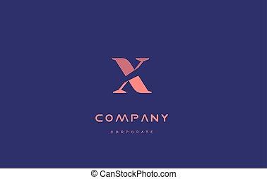 x company small letter logo icon design - x alphabet small...