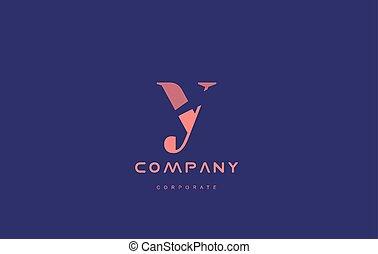 y company small letter logo icon design - y alphabet small...