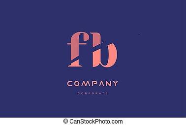 b f fb company small letter logo icon design - b f fb...