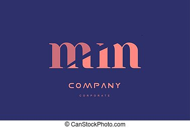 m m mm company small letter logo icon design - m m mm...