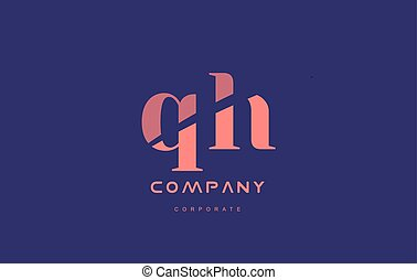 h g qh company small letter logo icon design - h g qh...