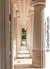 colonnade perspective