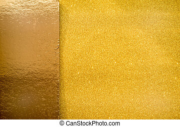 Gold Glitter Sparkle Background