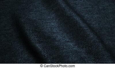 dark blue high quality jeans texture,moving waves,Seamless loop