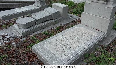 The Jewish cemetery. Varna. Bulgaria. - The Jewish cemetery....