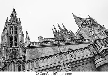 Cathedral of Saint Mary of Burgos - Burgos Cathedral was...