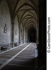 The closters are the most outstanding element of the the...