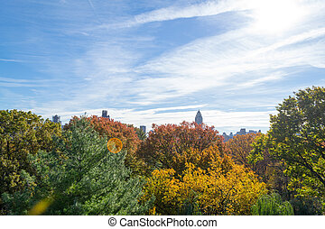 Belvedere Castle in Central Park contains the official...
