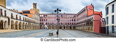 High square, Badajoz, Spain (Plaza Alta)