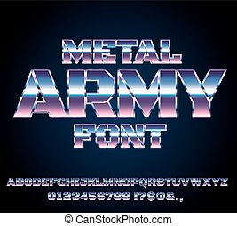 Retro Future Font - Retro Future Military Army Sci-Fi Movies...