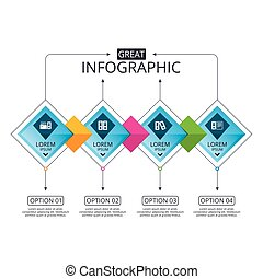 Accounting icons. Document storage in folders. - Infographic...