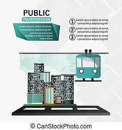 funicular cable car public transport urban background vector...