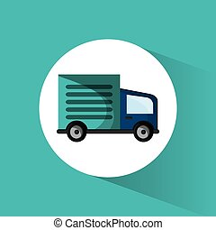delivery shipping public transport vector illustration eps...